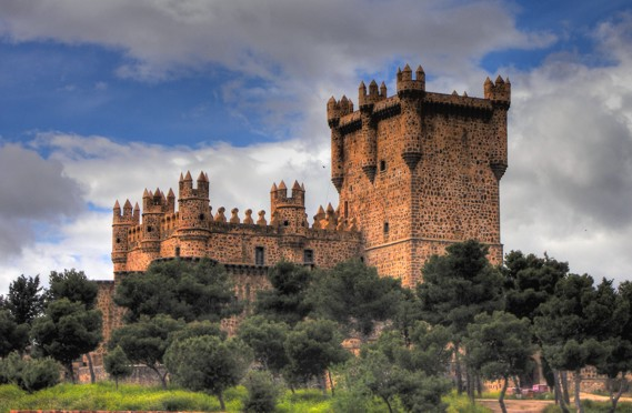 Resultado de imagen de castillos de toledo